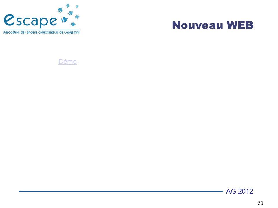 31 AG 2012 Nouveau WEB Démo