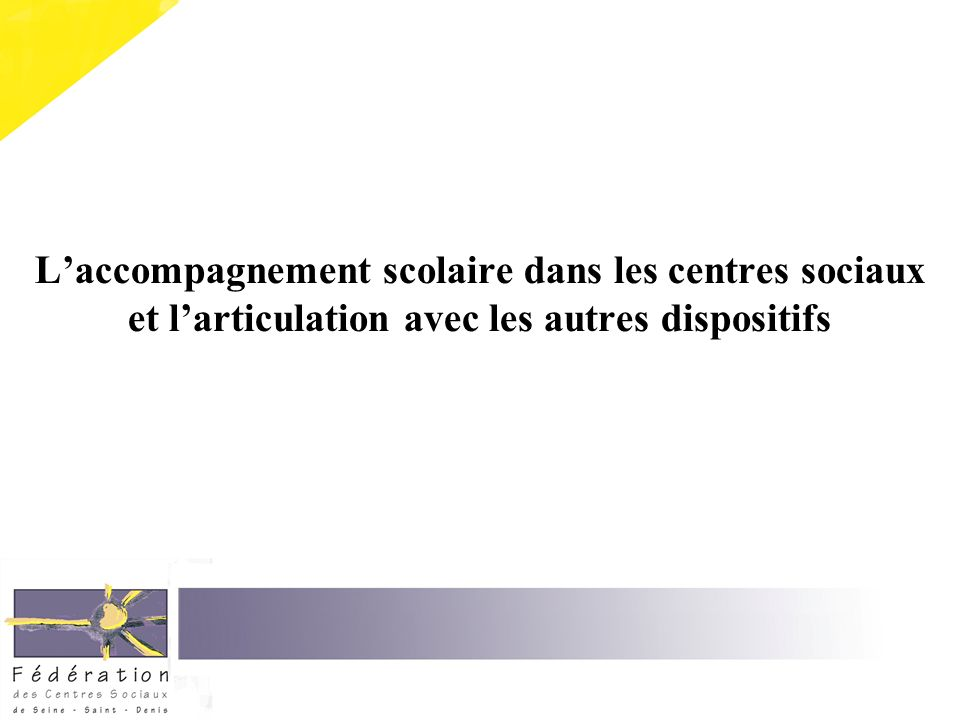 Les partenaires de léducation nationale : - Directeur / Principal - Enseignant - CPE - A.S.
