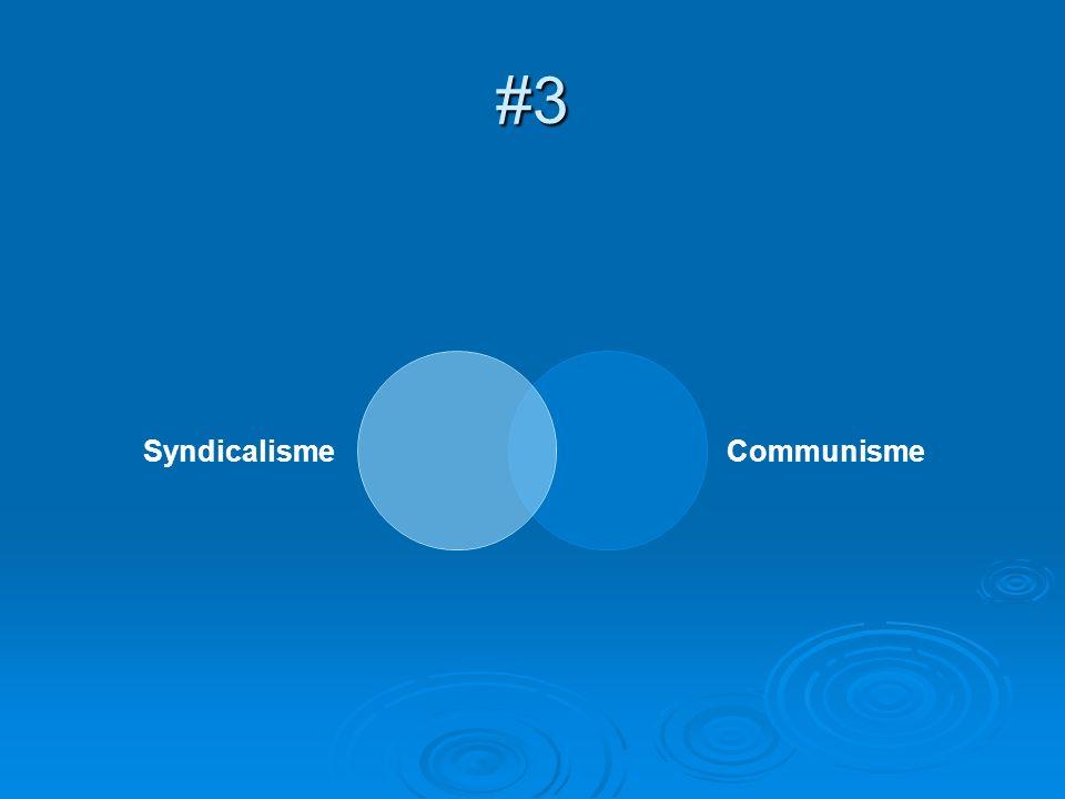 #3 SyndicalismeCommunisme