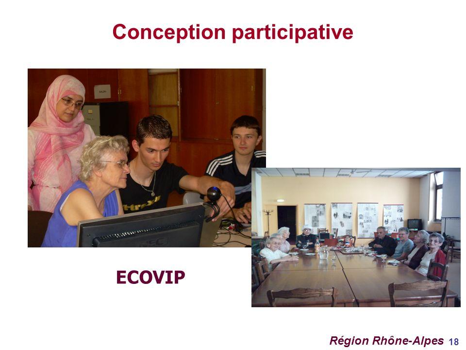 18 Conception participative ECOVIP Région Rhône-Alpes