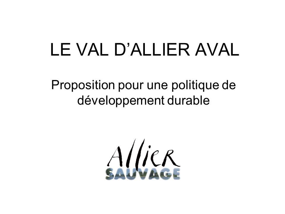 LE VAL DALLIER AVAL Proposition pour une politique de développement durable