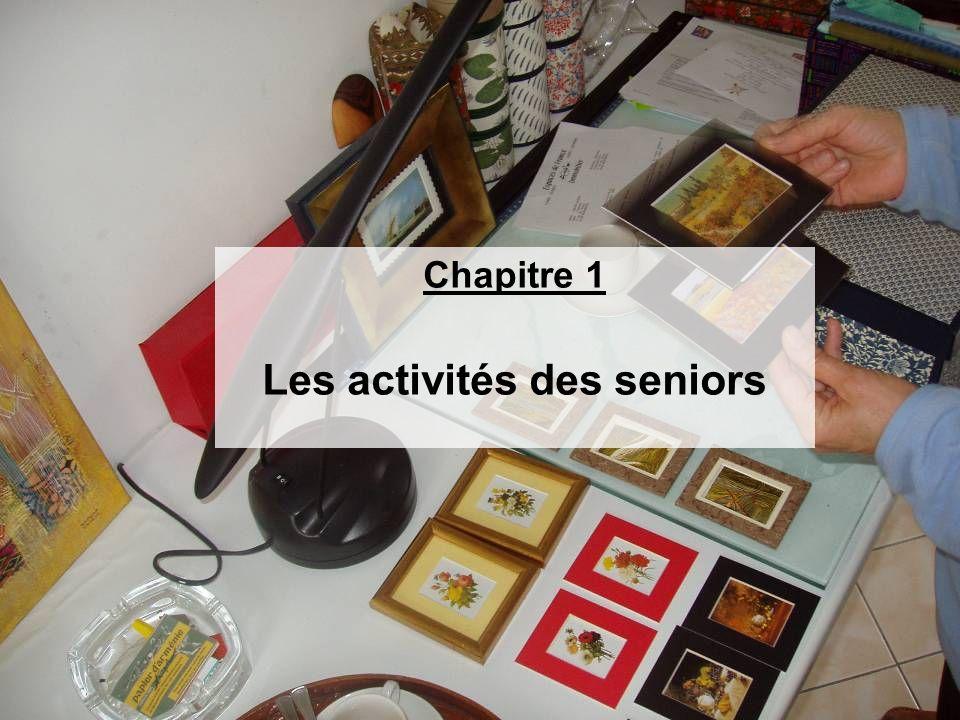 Chapitre 1 Les activités des seniors