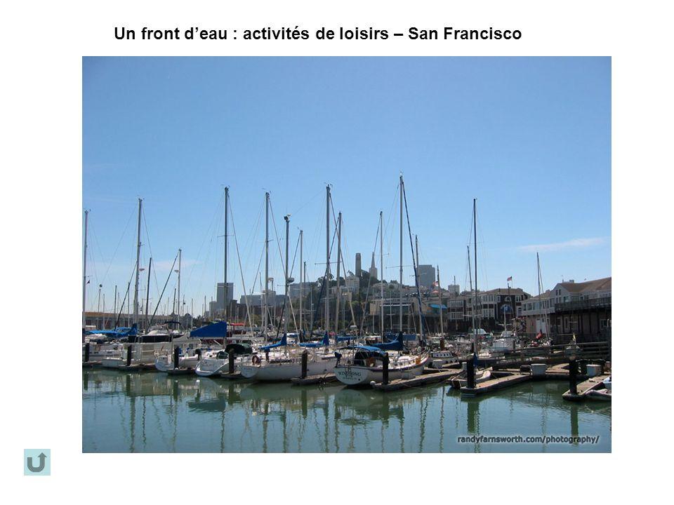 Un front deau : activités de loisirs – San Francisco