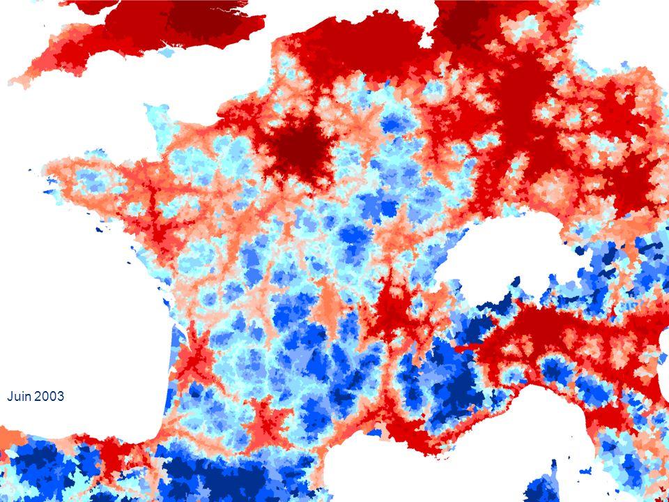 Les cartes des performances économiques des territoires en France et dans neuf pays voisins dEurope Dans les pays voisins, lItalie du Nord, lAllemagne, le Benelux, lAngleterre témoignent de la puissance des zones, densément peuplées, très bien irriguées par des infrastructures modernes.