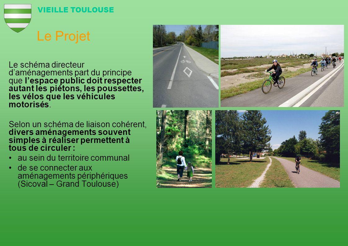 Le Projet Le schéma directeur daménagements part du principe que lespace public doit respecter autant les piétons, les poussettes, les vélos que les v