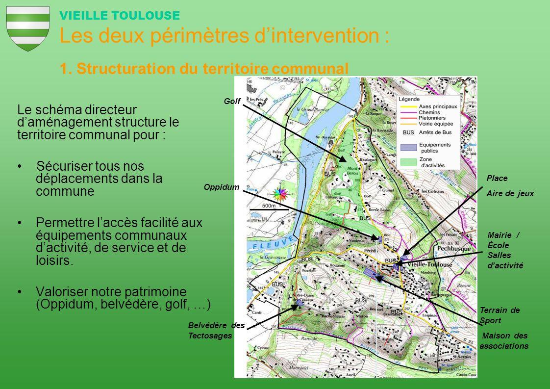 Le schéma directeur daménagement structure le territoire communal pour : Sécuriser tous nos déplacements dans la commune Permettre laccès facilité aux