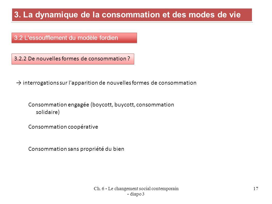 Ch.6 - Le changement social contemporain - diapo 3 17 3.