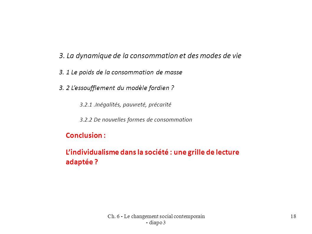 Ch.6 - Le changement social contemporain - diapo 3 18 3.