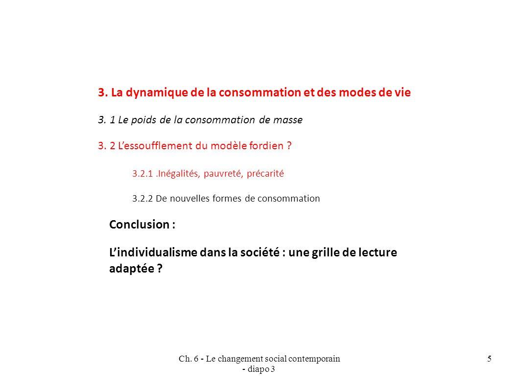 Ch.6 - Le changement social contemporain - diapo 3 5 3.