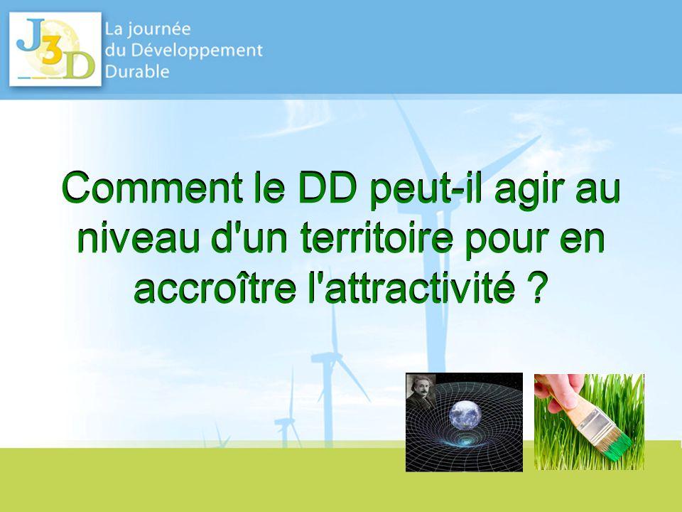 Sommaire 1.Exemples de projets développés pour accroître l attractivité des territoires .