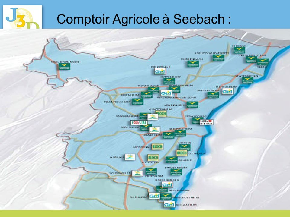 Comptoir Agricole à Seebach : création de plateforme biomasses