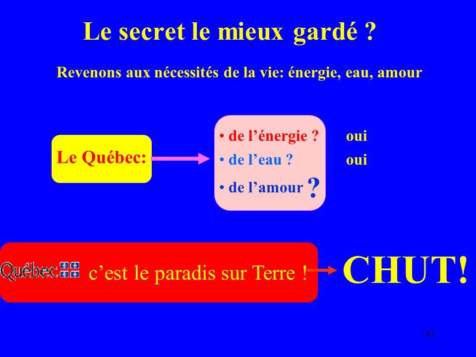 81 Le Québec: Le secret le mieux gardé .cest le paradis sur Terre .
