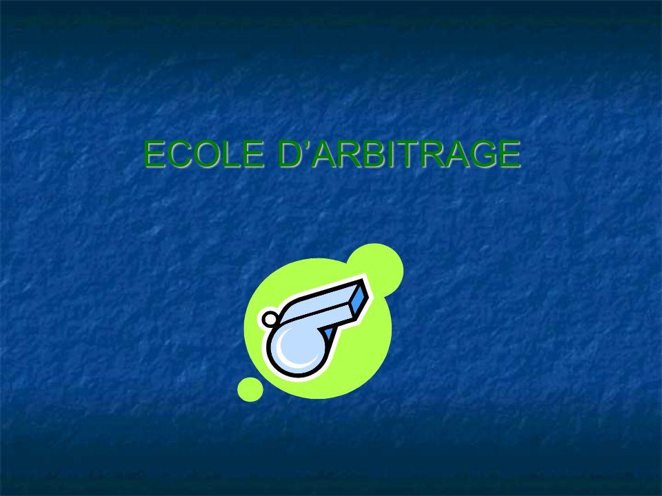 ECOLE DARBITRAGE