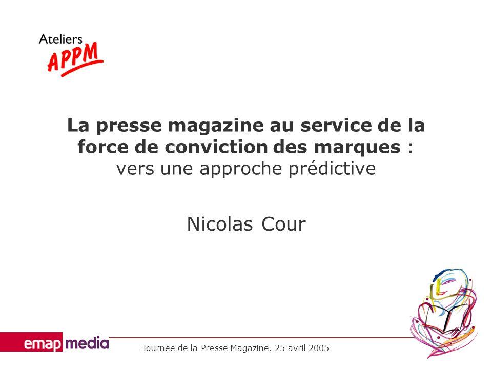 Journée de la Presse Magazine.