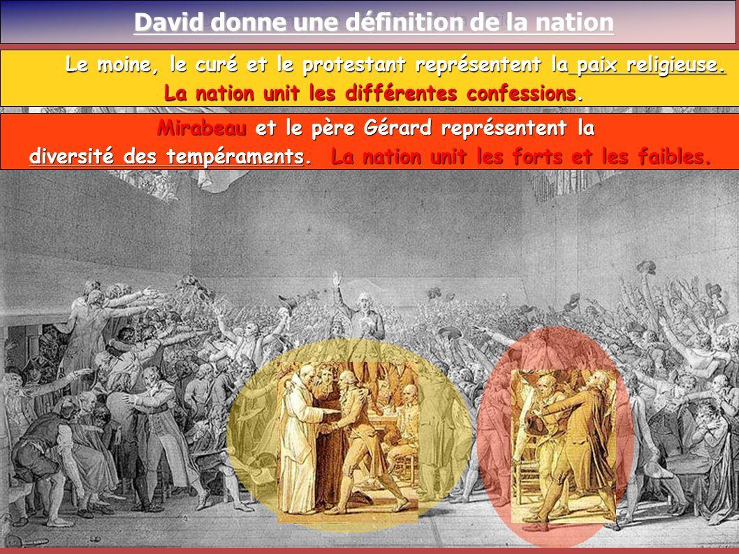 David donne une définition de la nation David donne une définition de la nation David donne une définition de la nation Mirabeau et le père Gérard rep