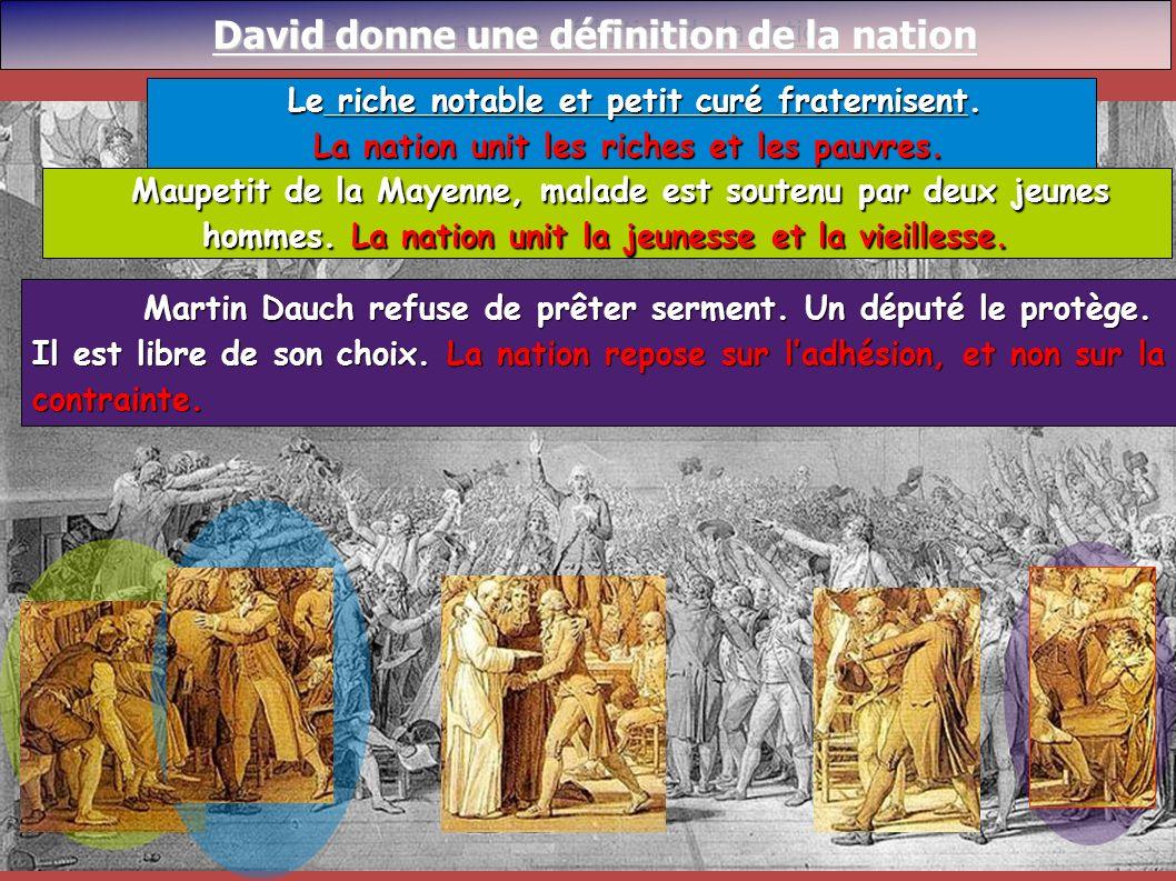 David donne une définition de la nation David donne une définition de la nation David donne une définition de la nation Martin Dauch refuse de prêter