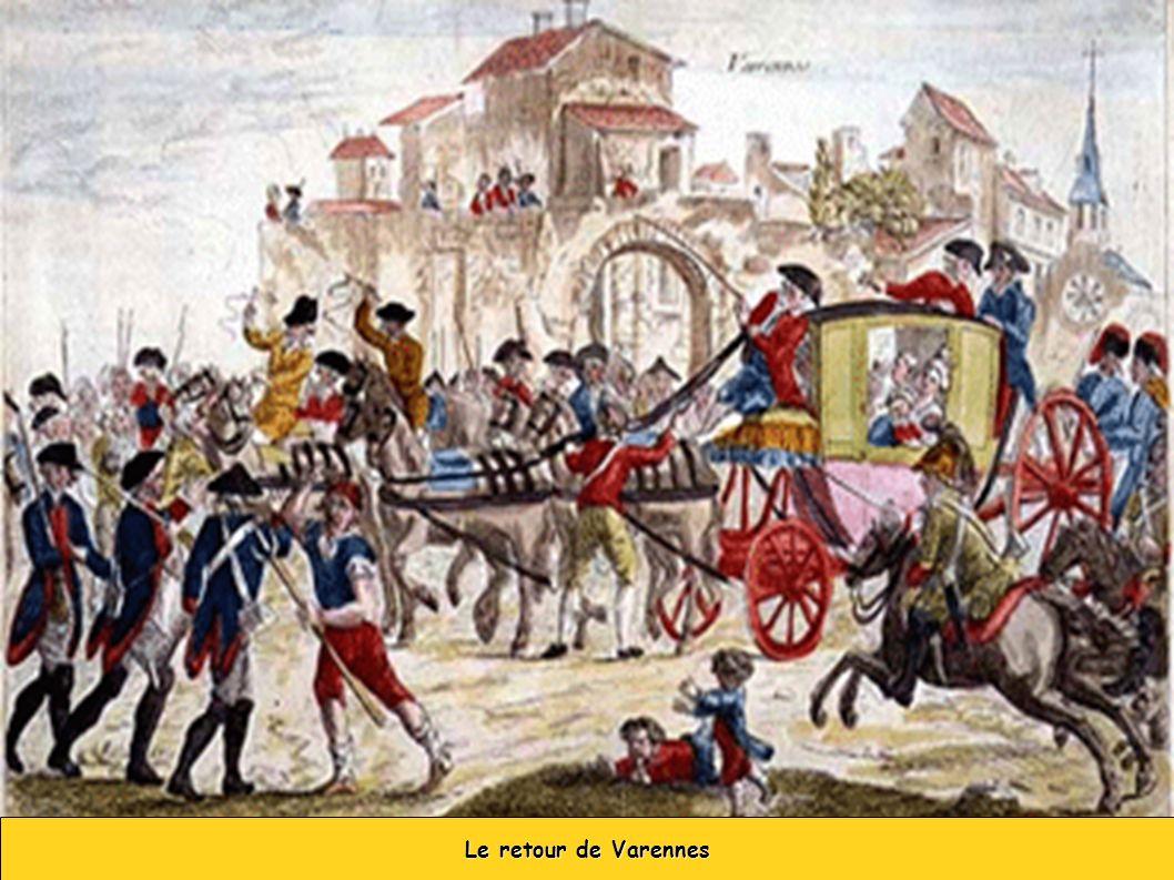 Le retour de Varennes