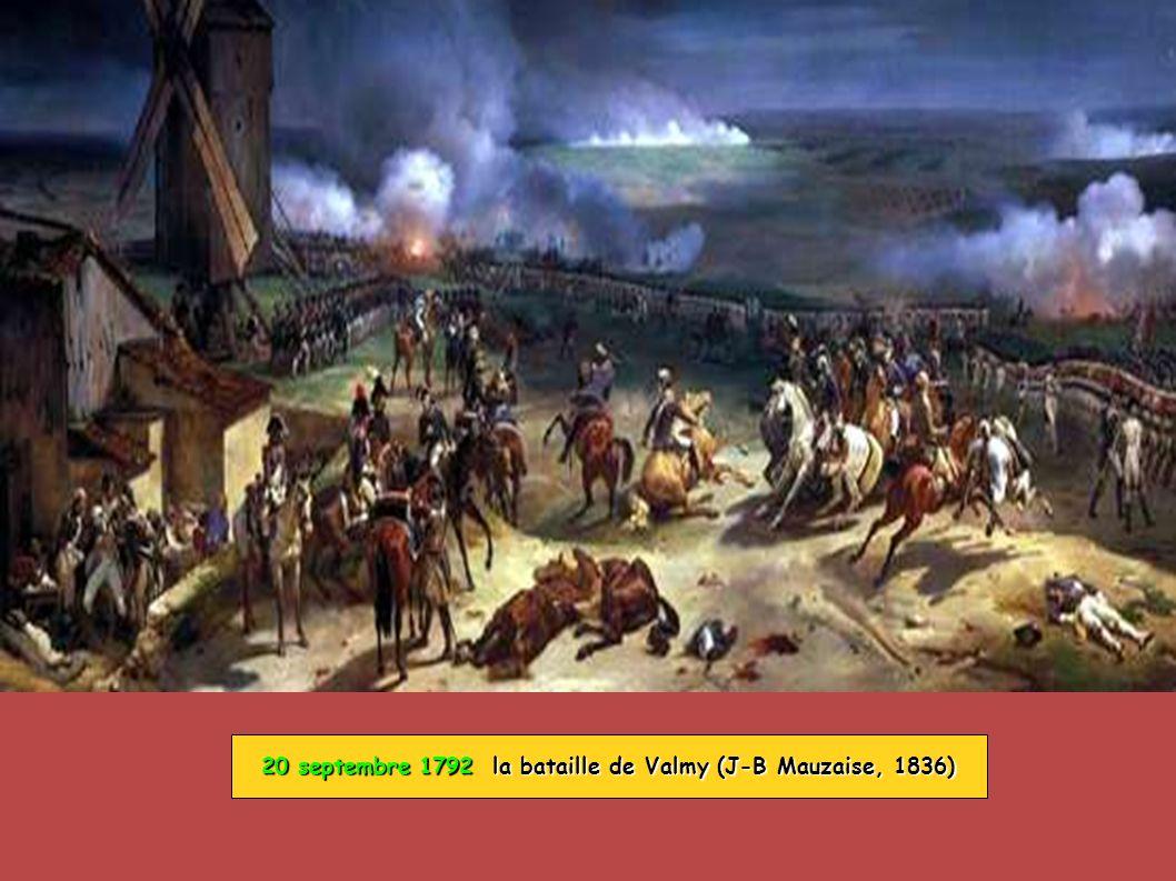 20 septembre 1792 la bataille de Valmy (J-B Mauzaise, 1836)
