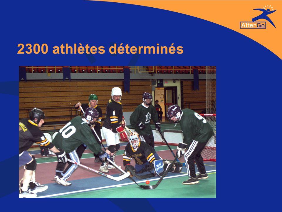 2300 athlètes déterminés