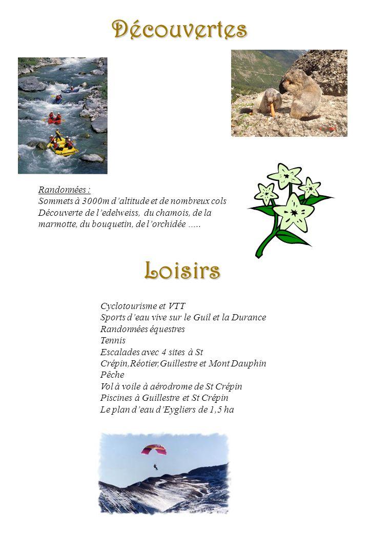 Résidence Les Trois Vallées - Guillestre Découvertes Randonnées : Sommets à 3000m daltitude et de nombreux cols Découverte de ledelweiss, du chamois,