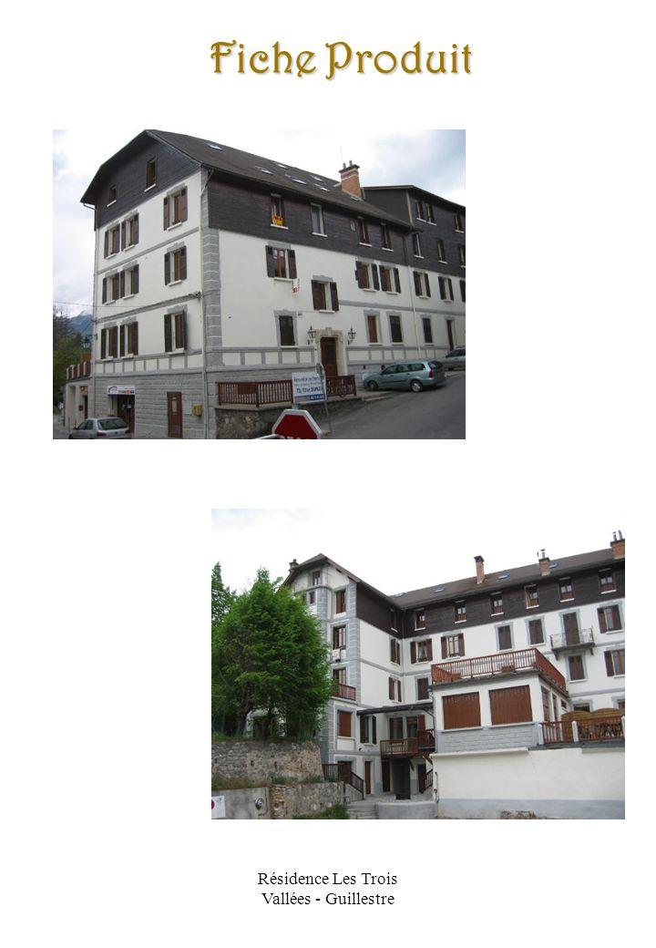 Résidence Les Trois Vallées - Guillestre Plans
