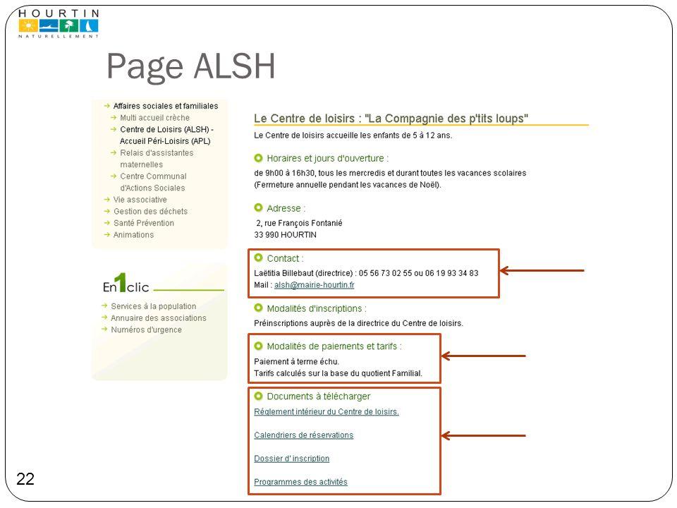 Page ALSH 22