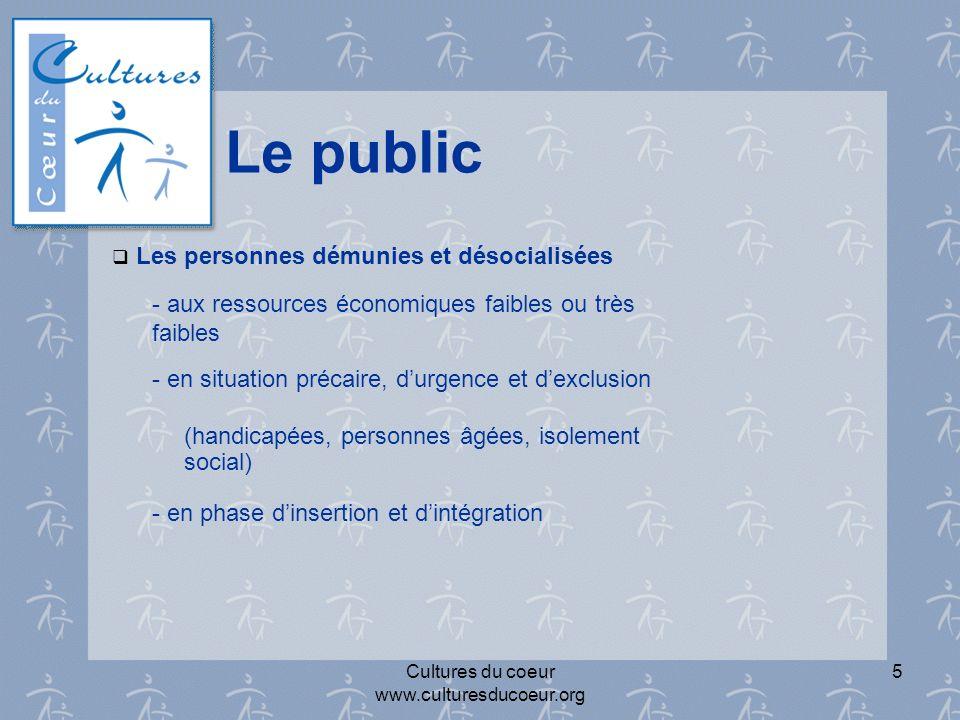 Cultures du coeur www.culturesducoeur.org 15 Les Partenaires culturels, sportifs et touristiques.