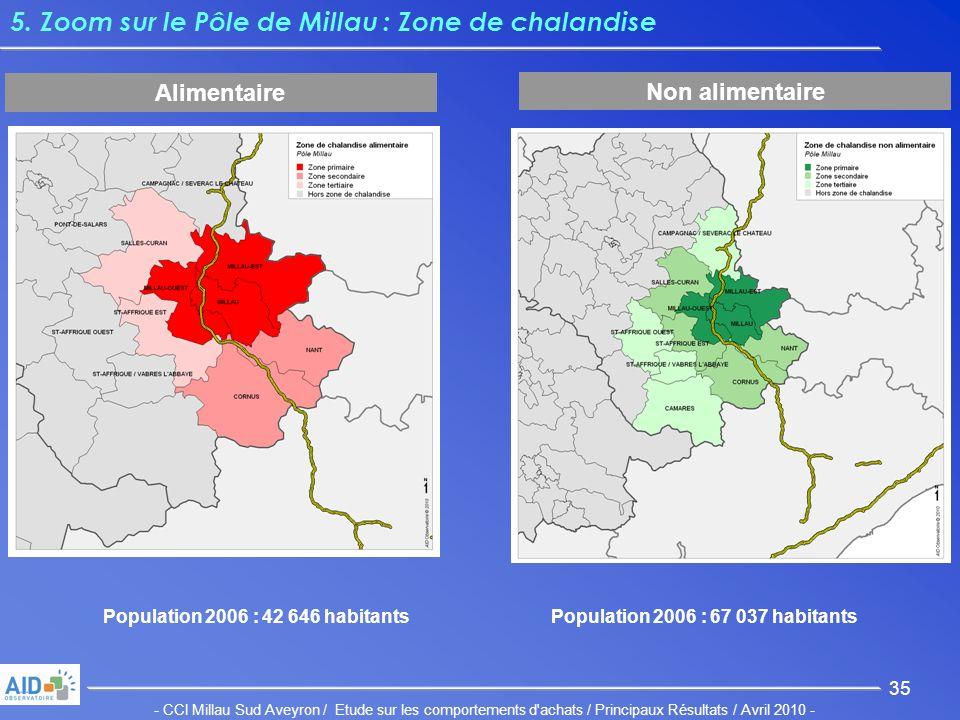 - CCI Millau Sud Aveyron / Etude sur les comportements d achats / Principaux Résultats / Avril 2010 - 35 5.