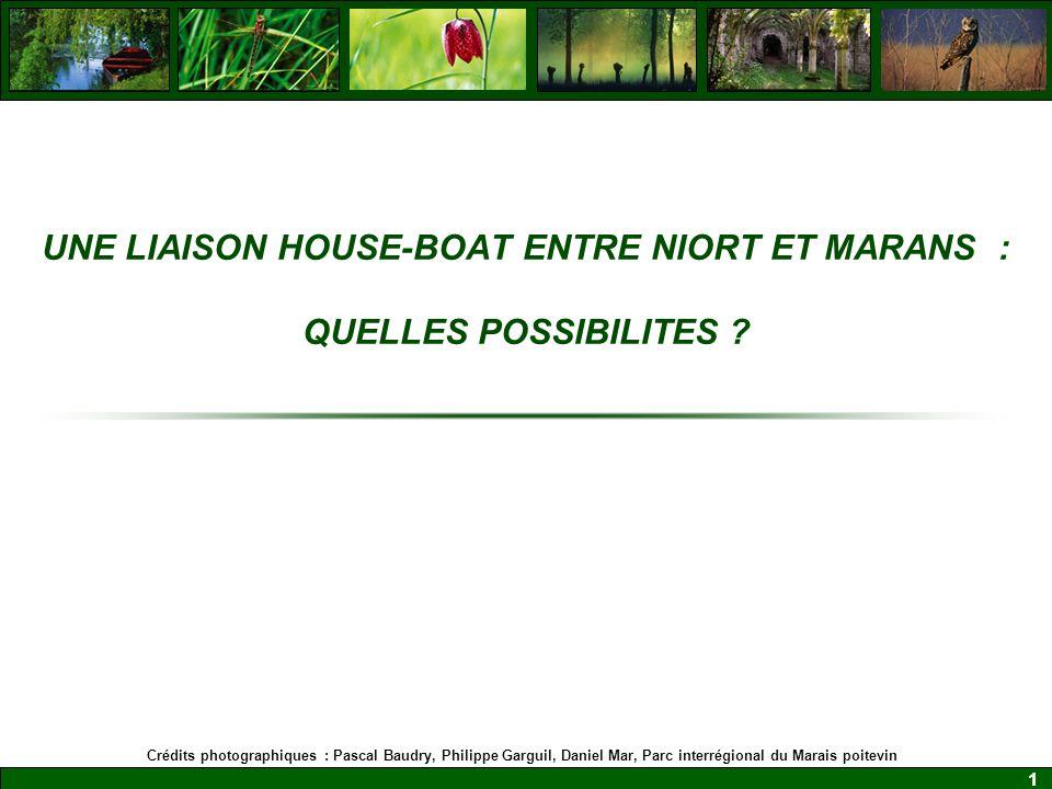 1 UNE LIAISON HOUSE-BOAT ENTRE NIORT ET MARANS : QUELLES POSSIBILITES .