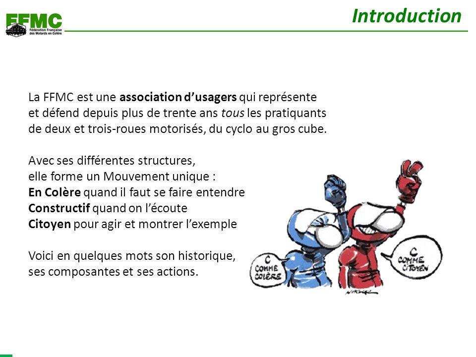 La FFMC est une association dusagers qui représente et défend depuis plus de trente ans tous les pratiquants de deux et trois-roues motorisés, du cycl