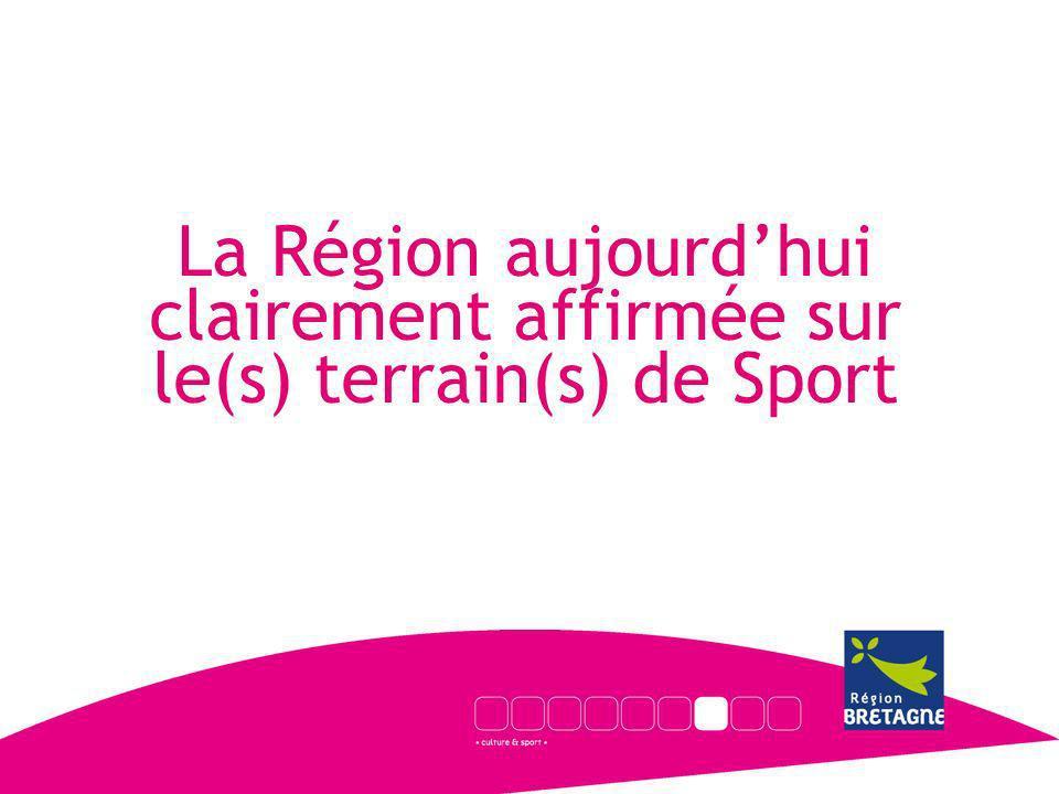 La Région aujourdhui clairement affirmée sur le(s) terrain(s) de Sport