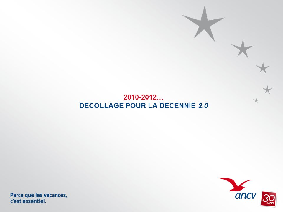 2010-2012… DECOLLAGE POUR LA DECENNIE 2.0