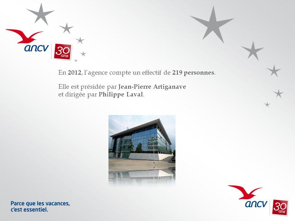 En 2012, lagence compte un effectif de 219 personnes. Elle est présidée par Jean-Pierre Artiganave et dirigée par Philippe Laval.