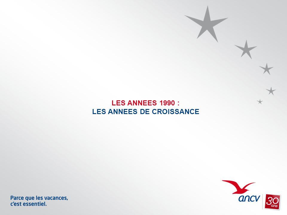 LES ANNEES 1990 : LES ANNEES DE CROISSANCE