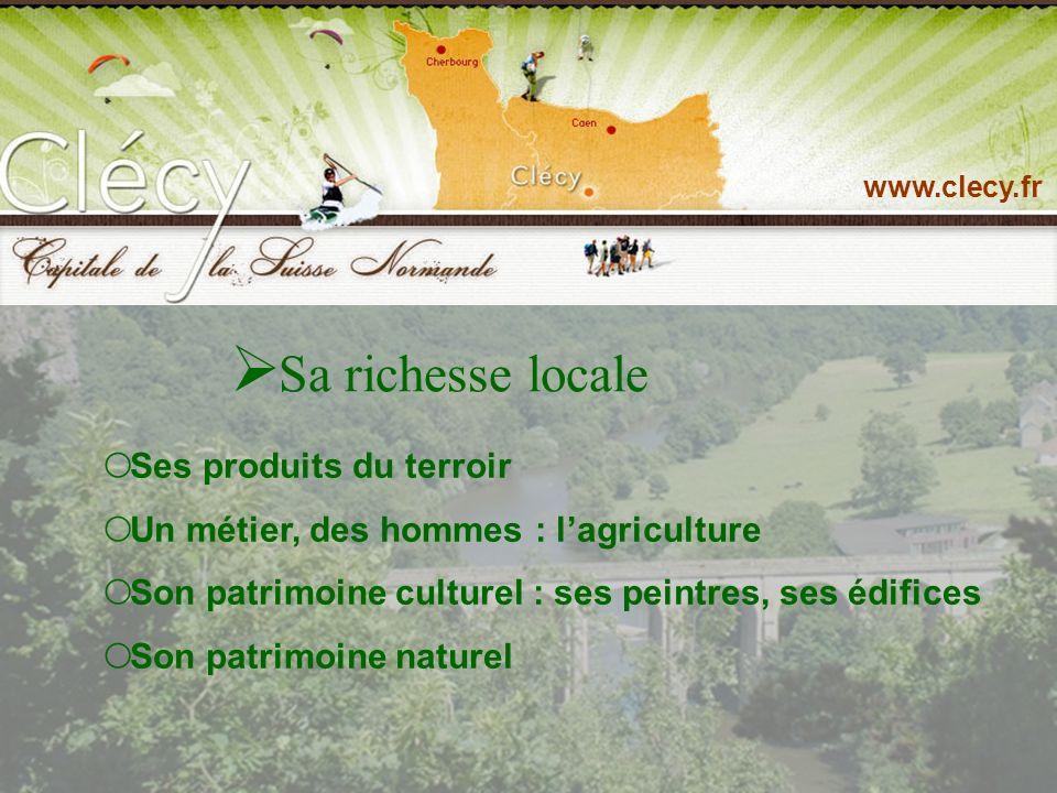Ses sites touristiques et de loisirs www.clecy.fr