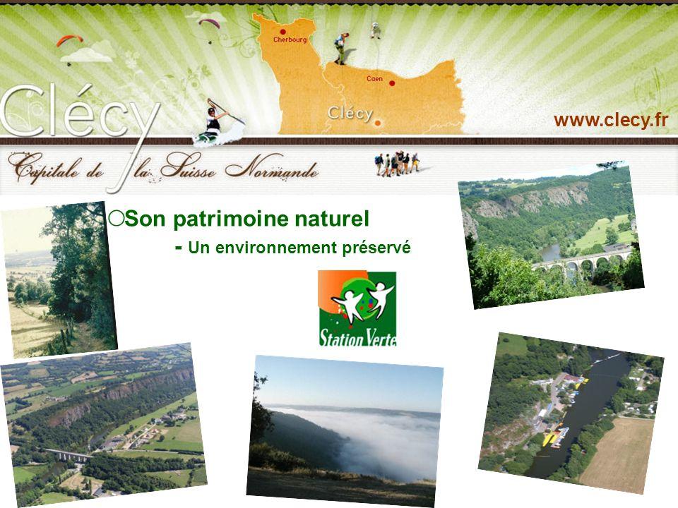 www.clecy.fr Son patrimoine culturel : ses peintres, ses édifices