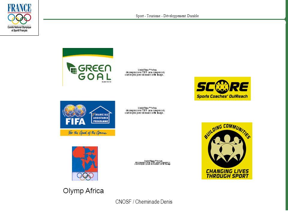 CNOSF / Cheminade Denis Sport - Tourisme - Développement Durable Olymp Africa