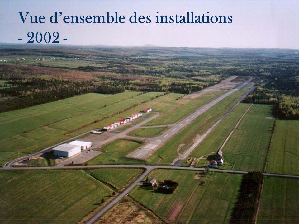 Vue densemble des installations - 2002 -