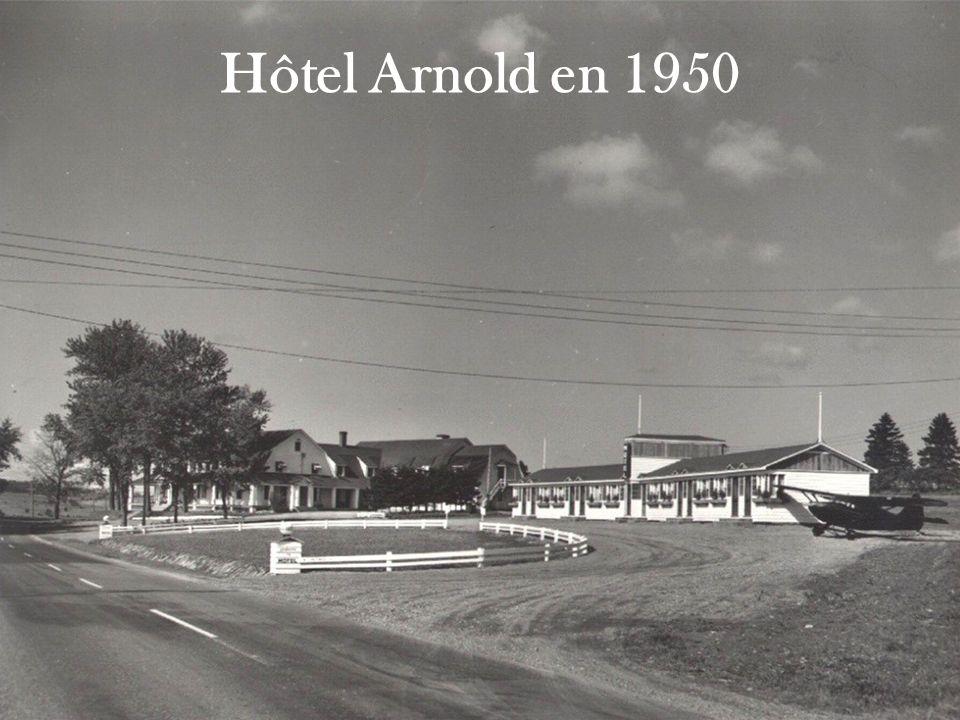 Hôtel Arnold en 1950