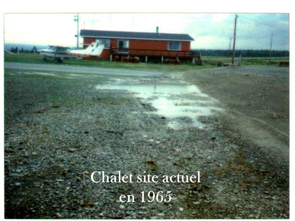 Travaux tarmac, taxiway alpha et carburant - 1984 -