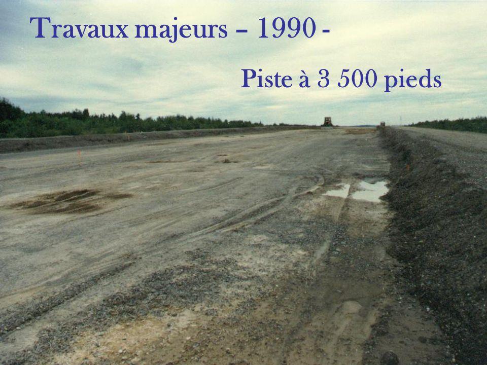 Travaux hangars Aviation CMP inc. - 2001 -