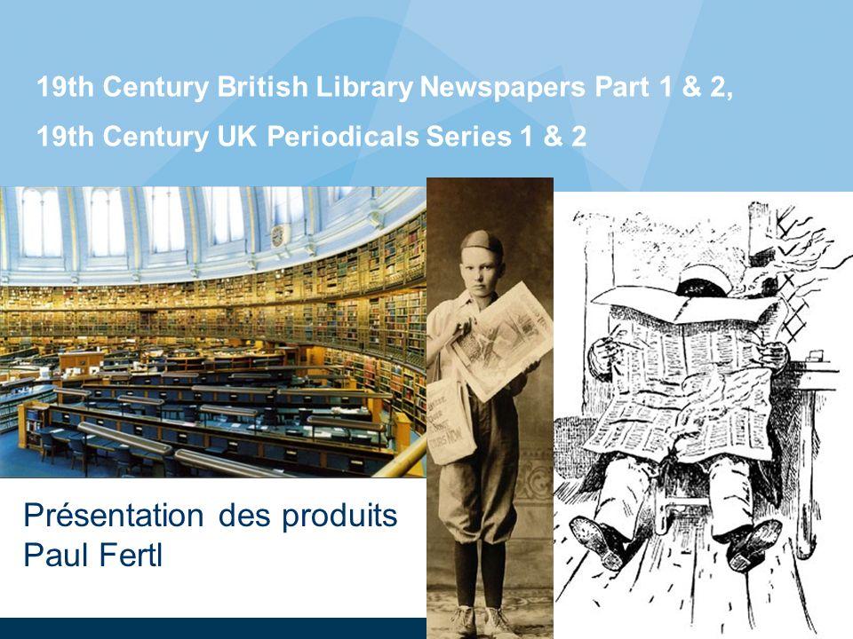 22 19th Century UK Periodicals Series 1: Sample titles