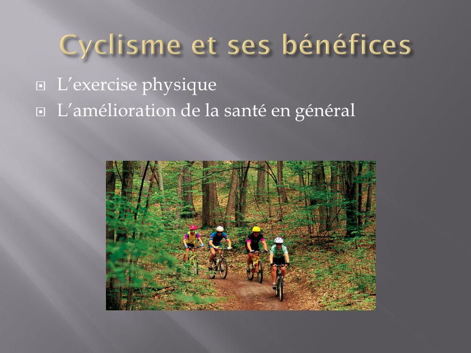 Lexercise physique Lamélioration de la santé en général