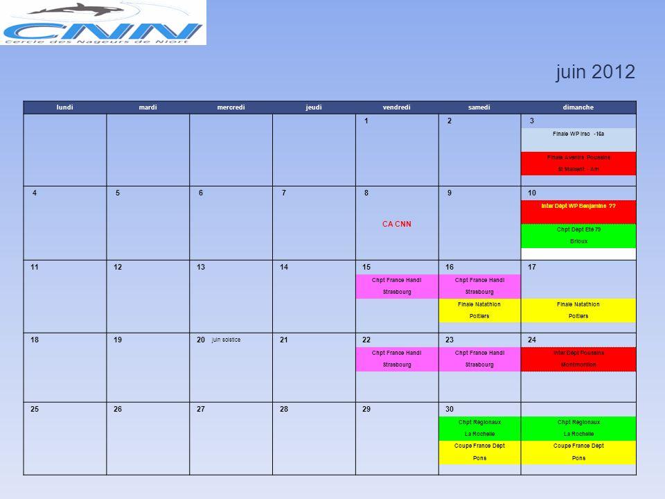 mai 2012 lundimardimercredijeudivendredisamedidimanche 1 Fête du 1er mai 2 3 4 5 6 WP Irso -14a Stage Club Ile d'Oléron Vacances Scolaires 7 8 Fête Vi