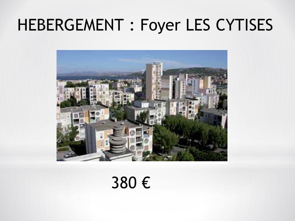 HEBERGEMENT : Foyer LES CYTISES 380