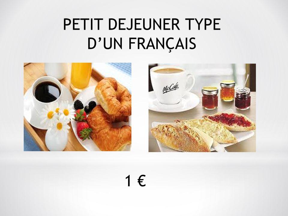 PETIT DEJEUNER TYPE DUN FRANÇAIS 1