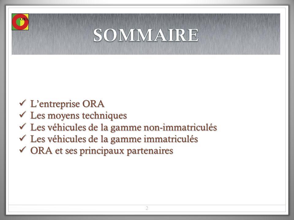 33 ZA Les Agries 31860 Labarthe sur Leze Tel: + 33 5 62 87 89 30 Fax: + 33 5 62 87 89 31 www.ora-ezgo.fr