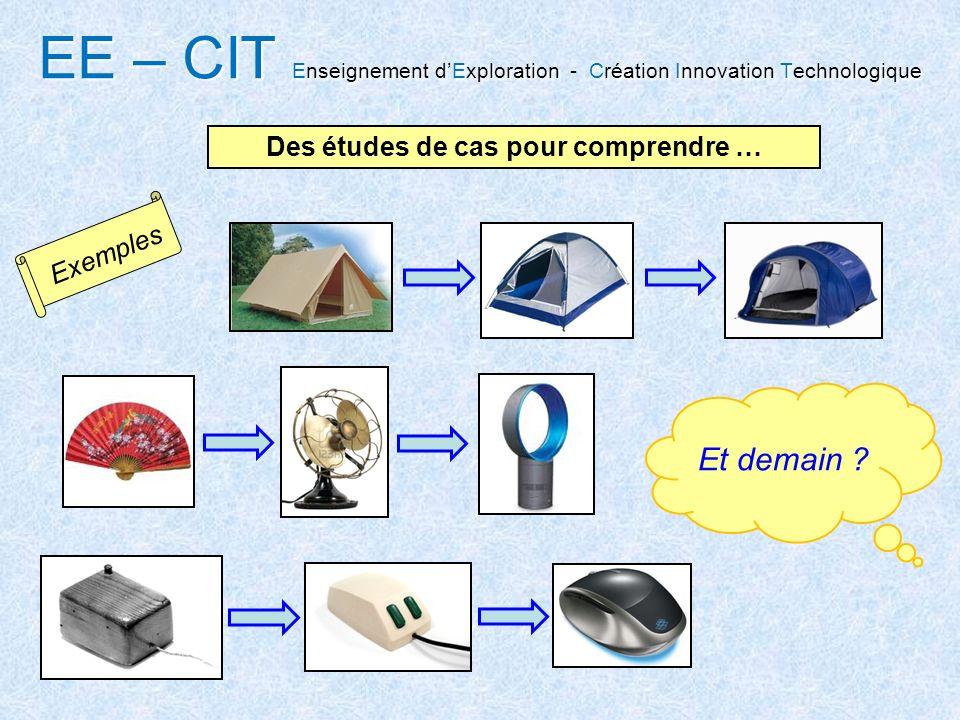 EE – CIT Enseignement dExploration Création Innovation Technologique EE – CIT Enseignement dExploration - Création Innovation Technologique Des études