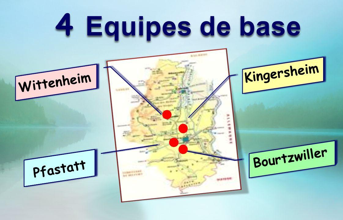 4 Equipes de base Wittenheim Pfastatt Kingersheim Bourtzwiller