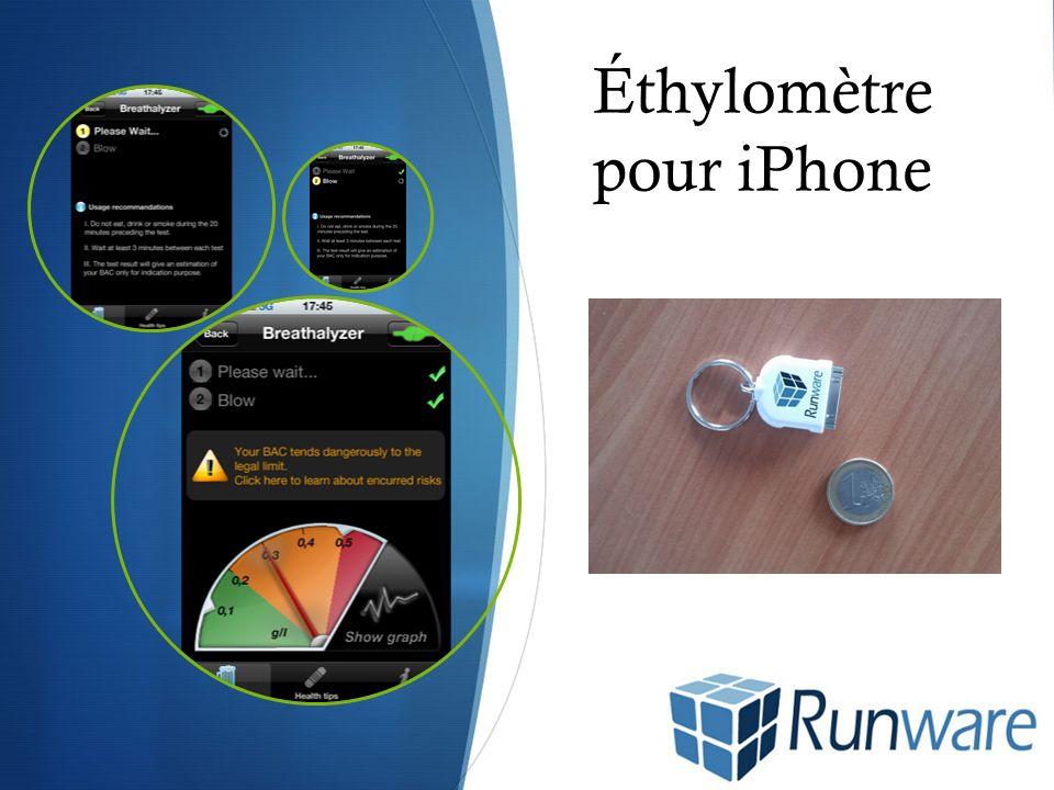 Éthylomètre pour iPhone